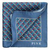 Thomas Pink Multi Elephant Print Pocket Square