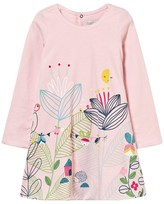 Catimini Pink Jersey Flower Dress