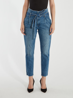 DL1961 Susie High Rise Tapered Straight Leg Jeans