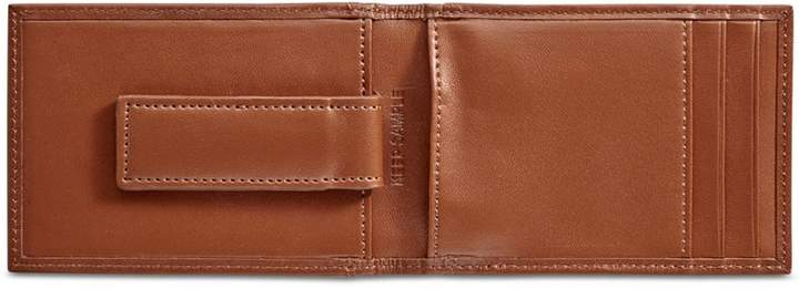 Perry Ellis Men's Leather Front-Pocket RFID Wallet