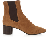 Isabel Marant Danae block-heel suede ankle boots