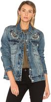 Blank NYC BLANKNYC Denim Jacket in Blue. - size XS (also in )