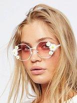 Free People Ditsy Daisy Sunglasses