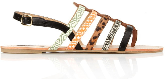 Forever 21 kitschy strappy sandals