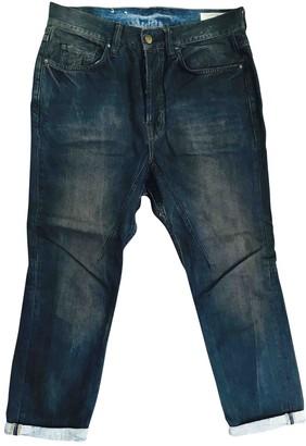 AllSaints Blue Cotton Jeans