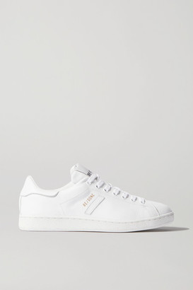 RE/DONE 70s Tennis Leather Sneakers - White