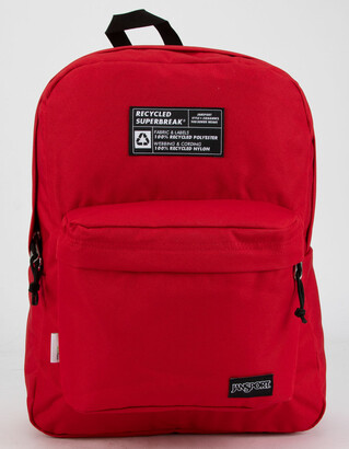 JanSport Recycled Superbreak Red Backpack