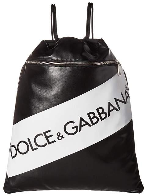 Dolce & Gabbana Tape Logo Rucksack