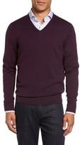 Nordstrom Men's V-Neck Merino Wool Sweater