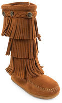 Minnetonka Toddler's & Kid's Three-Layer Fringe Boots