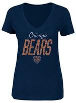 NFL Women's Distressed Screen Print Heathered T-Shirt