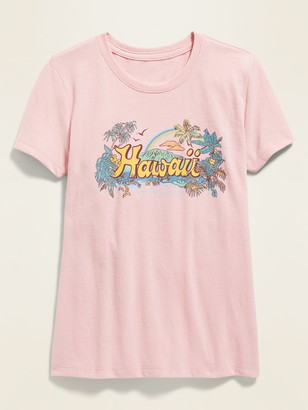 Old Navy Hawaii Graphic Soft-Washed Tee for Girls