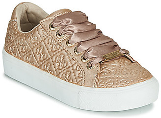 GUESS MISSY girls's Shoes (Trainers) in Gold