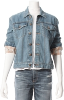 The Great Lined Boxy Jean Jacket