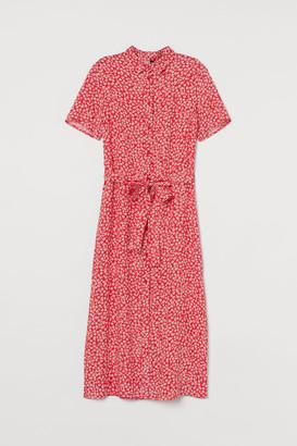 H&M Shirt Dress - Red