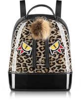 Furla Leopard Print and Toni Glace Candy Jungle Small Backpack