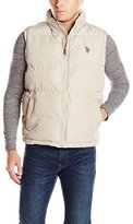 U.S. Polo Assn. Men's Basic Front-Zip Puffer Vest