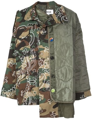 Monse Camouflage Oversized Jacket