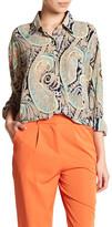 Glamorous Paisley Tunic Blouse