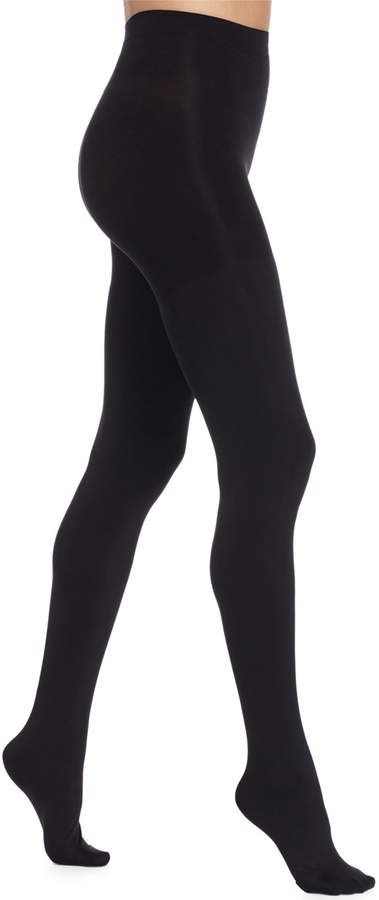 c22896c2e5f Spanx Black Opaque Tights - ShopStyle
