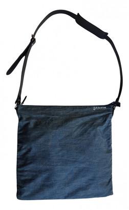 A.P.C. Blue Cotton Bags