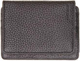 Cole Haan Men's Pebbled Leather Clip Wallet -Brown