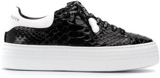 Philipp Plein lo-top luxury sneakers