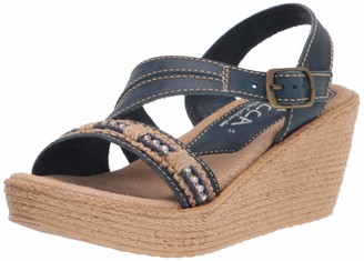 Sbicca Women's Ankle Strap Wedge Sandal