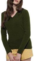 Parisbonbon Women's 100% Cashmere Classic Sweater Color Size XS
