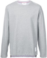 Thom Browne relaxed plain sweatshirt