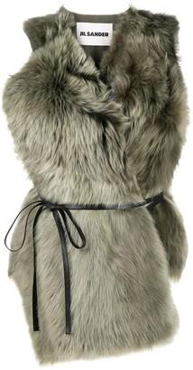 Jil Sander Lamb Fur Vest