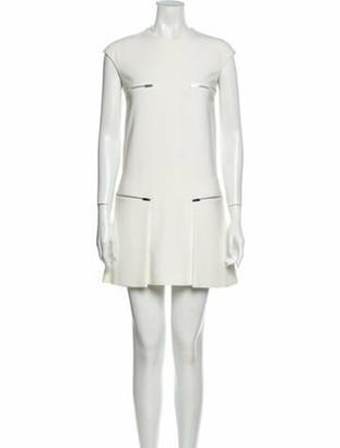 Stella McCartney Crew Neck Mini Dress w/ Tags White