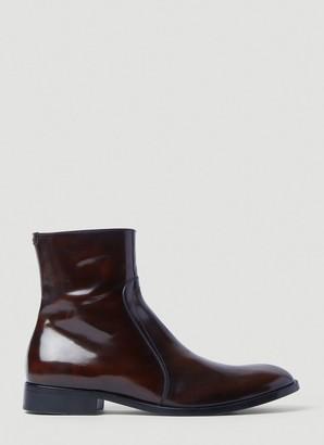 Maison Margiela Zip-Up Ankle Boots