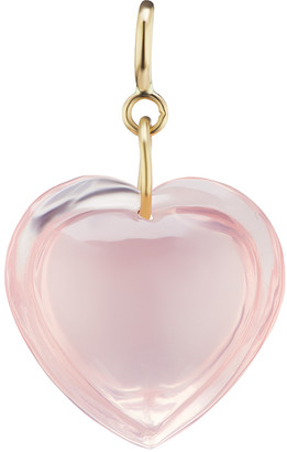 Ten Thousand Things Rose Quartz Heart Charm