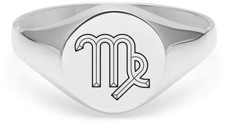 Myia Bonner Virgo Signet Ring In Sterling Silver