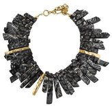 Ashley Pittman Horn Fimbo Collar Necklace