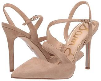 Sam Edelman Hollyn (Oatmeal Suede Leather) Women's Shoes