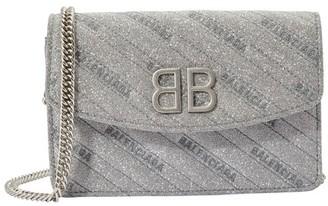 Balenciaga BB wallet with chain