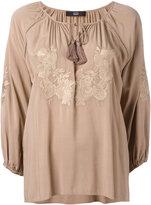Steffen Schraut floral embroidery blouse