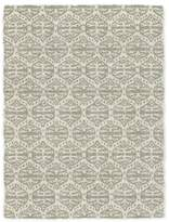 west elm Carved Ogee Shag Rug - Ivory