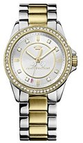 Juicy Couture Stella Women's Quartz Watch with Silver Dial Analogue Display and Silver Stainless Steel Bracelet 1901078