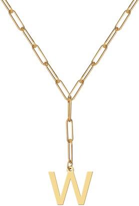 Jane Basch Designs Initial Pendant Necklace