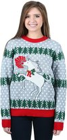 FunQi Gifts womens Unicorn Rudolph Ugly Christmas Sweater