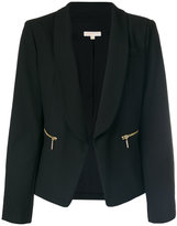 MICHAEL Michael Kors classic fitted blazer - women - Polyester/Spandex/Elastane/Viscose - 6