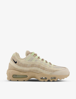 Nike Air Max 95 textile and leather trainers