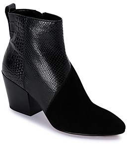 Dolce Vita Women's Crew Almond Toe Leather Booties