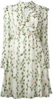 Giambattista Valli floral print flared dress - women - Silk/Cotton/Viscose - 42