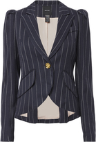 Smythe Pouf Sleeve Striped Blazer