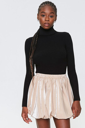 Forever 21 Mini Bubble Skirt