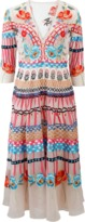 Temperley London Aura Embroidered Dress